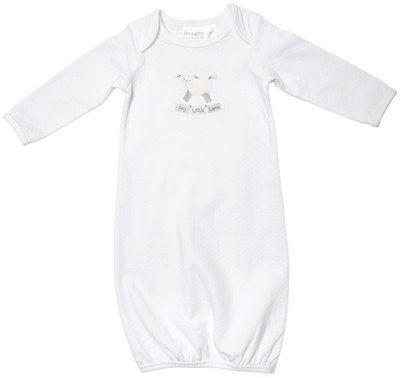 38 best his gem baby apparel and gifts images on pinterest gem girls his gem inspirational baby apparel and gifts lamb gown white hislittlelamb negle Image collections