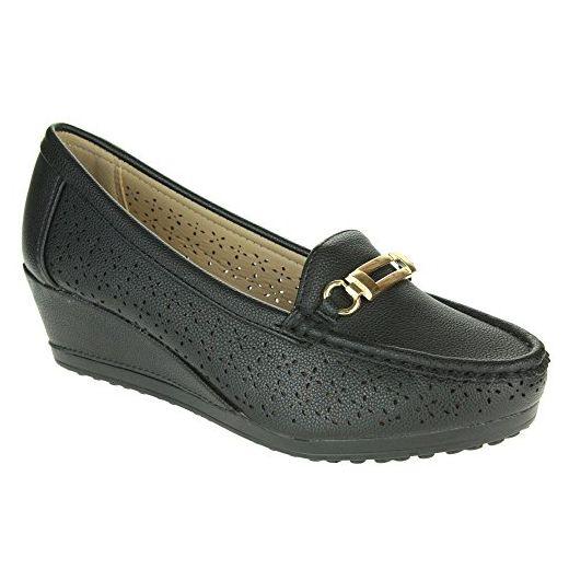 PDX/Damen Schuhe Fleece flach Heel Comfort Wohnungen Outdoor, - taupe-us8 / eu39 / uk6 / cn39 - Größe: One Size