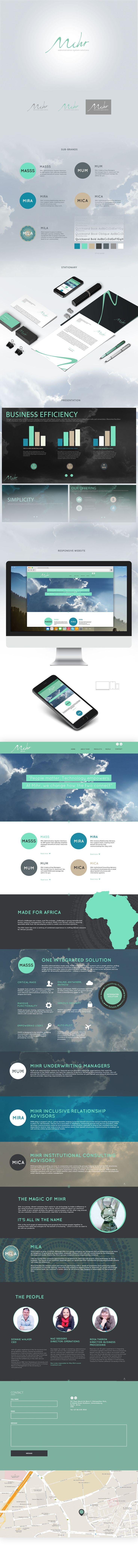 Brand Development for Mihr,