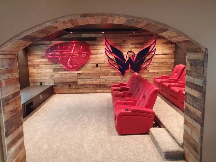 Washington Capitals man cave