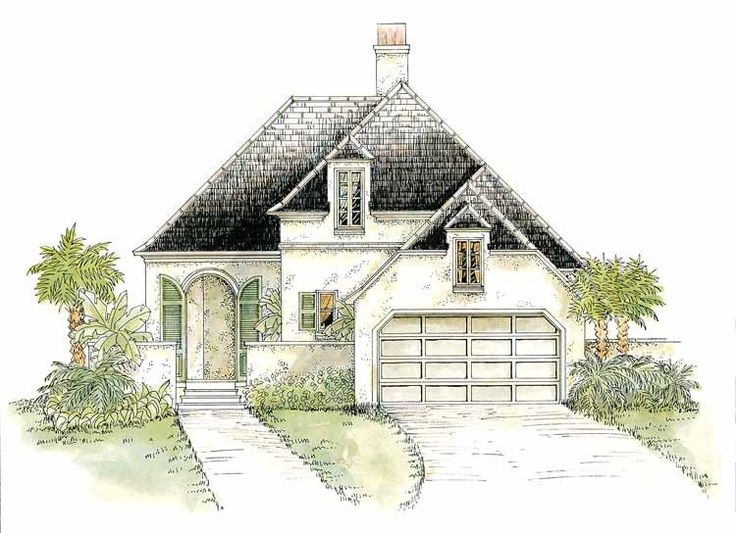 Eplans french country house plan dazzling european for French cottage home plans
