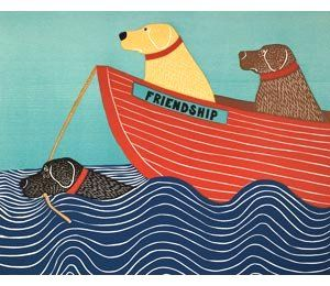 Fayston Elementary Art: Dog Pictures inspired by Vermont Artist Stephen Huneck