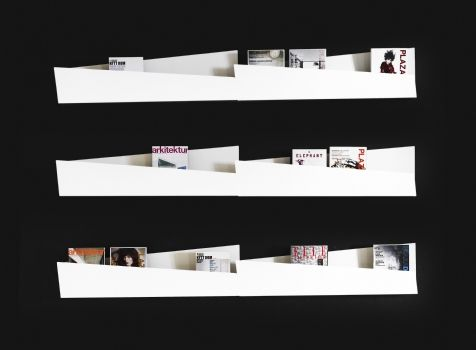 Brochure Display - angles
