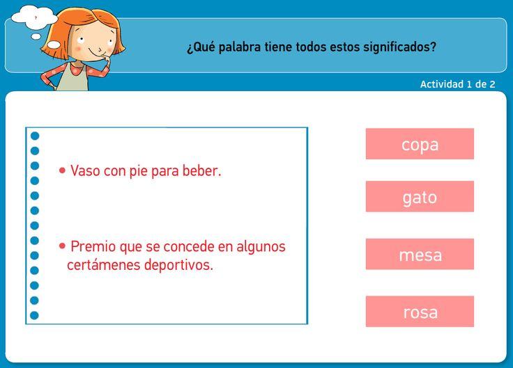 http://www.primerodecarlos.com/TERCERO_PRIMARIA/archivos/actividades_tilde_tercero/6/palabras_polisemicas.swf