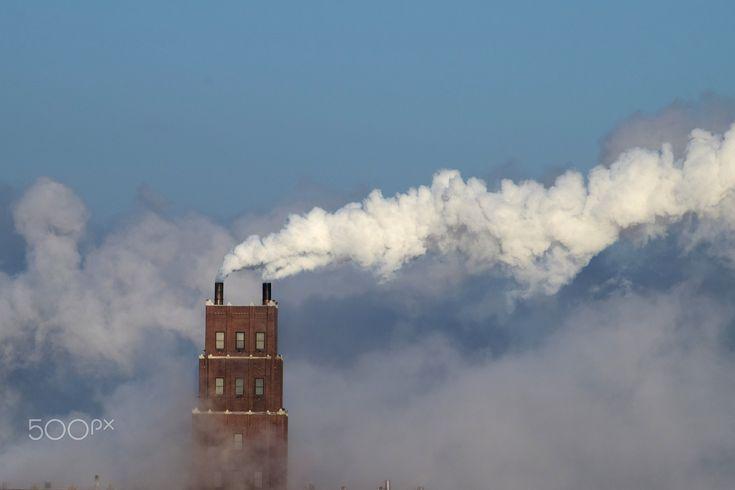 Smokestack - Industrial smokestack