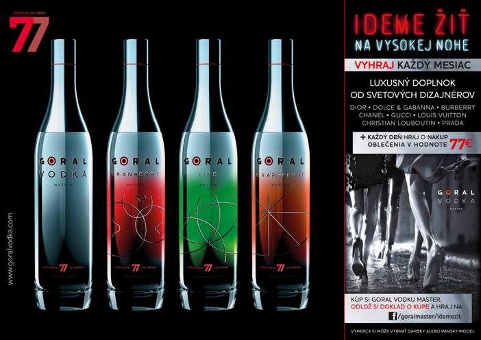 Súťaž s GORAL VODKA MASTER | Alkoholické nápoje | 1day.sk