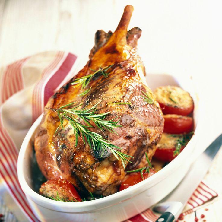 Recette de Pâques : Découvrez la recette Gigot d'agneau au miel sur cuisineactuelle.fr.