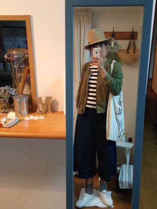 uzukanさんのミリタリージャケット「しまむら 」を使ったコーディネート