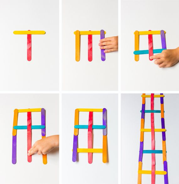 How to make stick bombs - woven popsicle sticks that 'explode'
