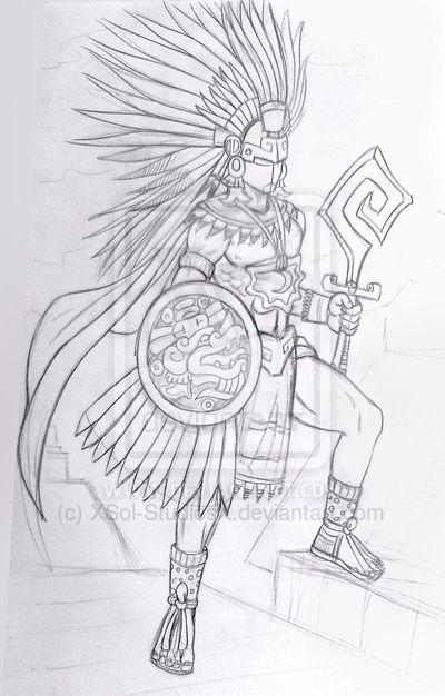 Guerrero Quetzalcoatl * by XSol-StudiosX on DeviantArt