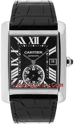 Imitation Cartier Tank MC Stainless Steel W5330004 Watch Description - High quality imitation watches at deep discount