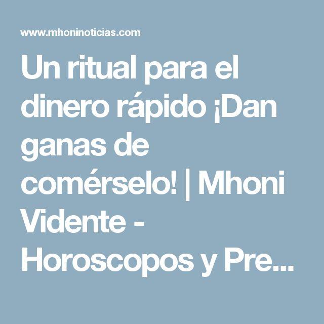 Un ritual para el dinero rápido ¡Dan ganas de comérselo! | Mhoni Vidente - Horoscopos y Predicciones