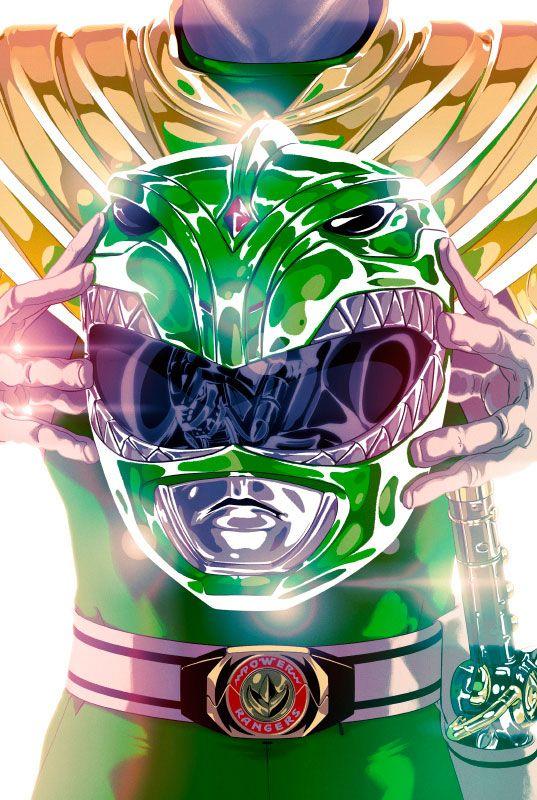 Goni Montes y su versión de los Power Rangers