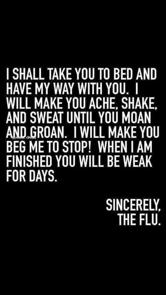Sincerely, The Flu