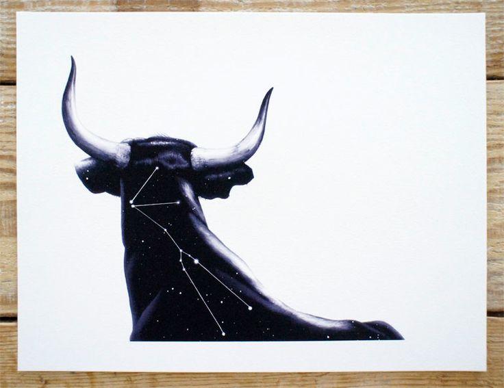 Taurus Print by Chris Koehler. To purchase, visit chriskoehler.com!