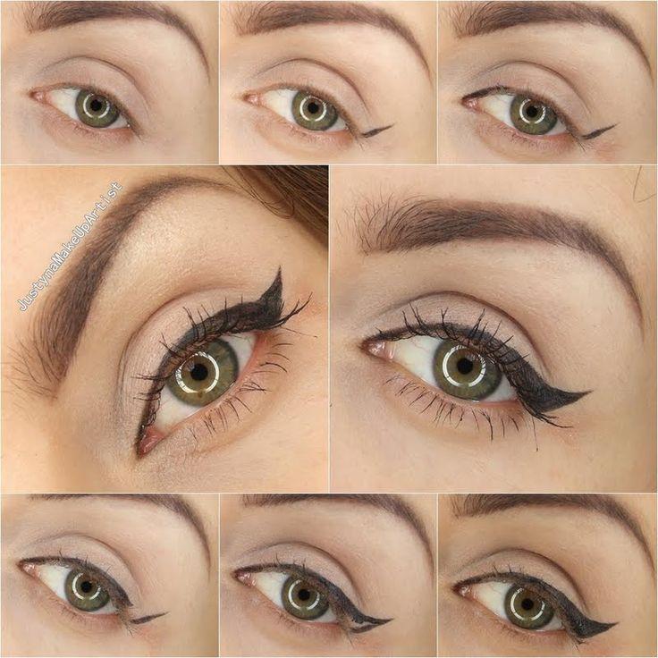 Speaking, Winged eyeliner step by step what