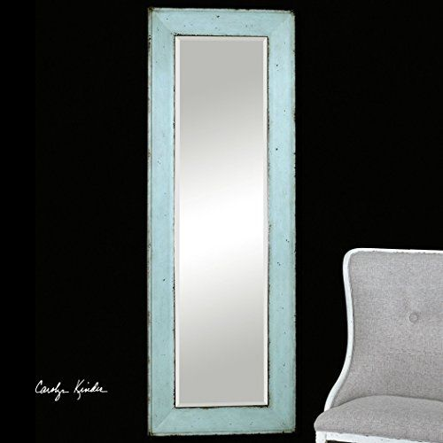 Coastal Cottage Blue Full Length Mirror| Wall Floor Leaner Intelligent Design http://www.amazon.com/dp/B00SVYCB40/ref=cm_sw_r_pi_dp_J1Y2wb1Y29YYR