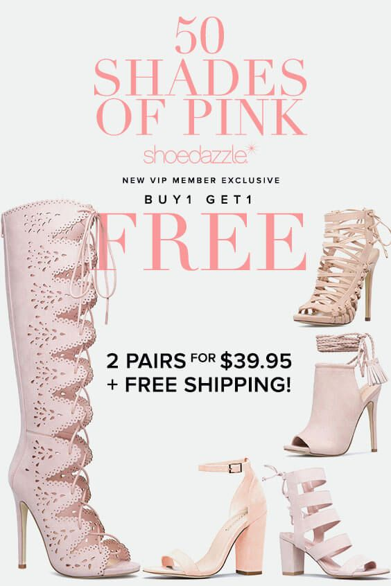 """BOGO Spring Styles are In! Get Your First 2 Styles for Only $39.95! Make sure you're up to date on the hottest trends by signing up as a Shoedazzle VIP. You'll enjoy a new boutique of personalized styles each month, as well as exclusive pricing, early access to sales & free shipping on orders over $39. Don't think you'll need something new every month? No problem! Click """"Skip The Month"""" in your account by the 5th and you won't be charged. Take the Style Quiz today to get this exclusive…"""