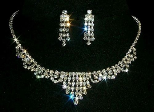 Titanic Jewelry Molly Browns Dinner Necklace & Earrings