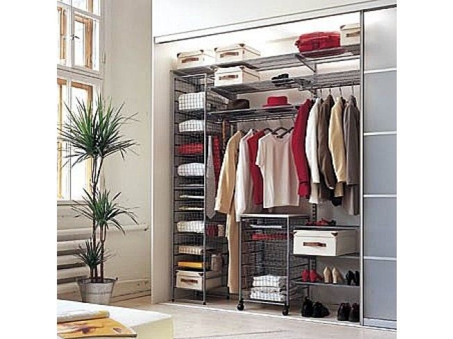 Elfa Bedroom Solution. Clothes Storage ...