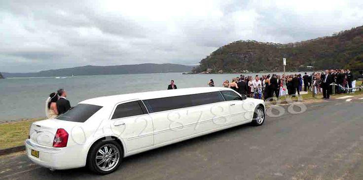10 seat Chrysler on wedding duty