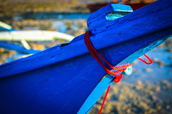 #beach #blue #canoe #sky