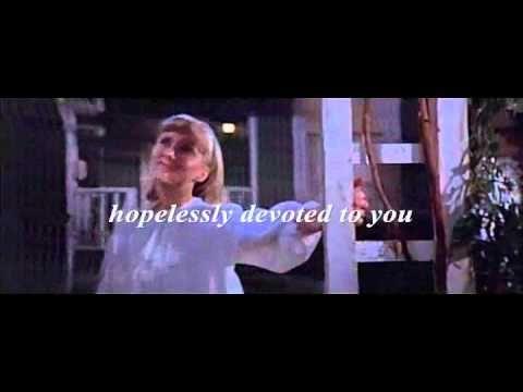 Olivia Newton Johon - Hopelessly Devoted to You - Subtitulada (Lyrics)