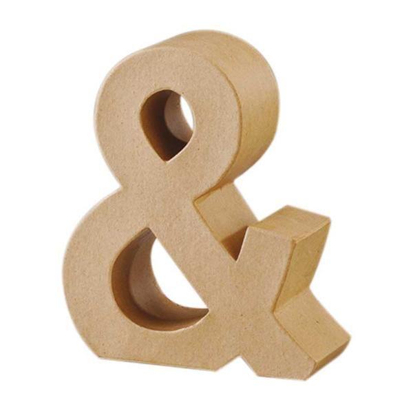 Papier-maché teken & - Papier en karton | Papier-maché | Papier-maché cijfers & letters