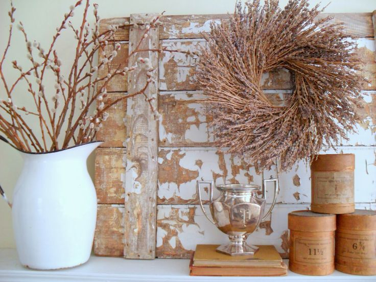 must love junk: Winter Mantel