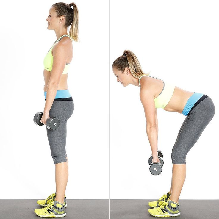 Six moves, 100 reps, all targeted to work out your butt. It's intense but so worth it.