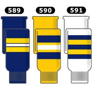 Athletic Knit Michigan Hockey Socks
