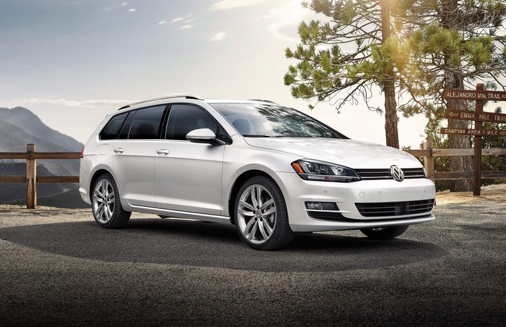 """The wagon that'll make you rethink the wagon."" 2015 Volkswagen Golf Sportwagen. Turbocharged. Hatchback. New technology. Touchscreen navigation. Available at Brookdale Volkswagen."