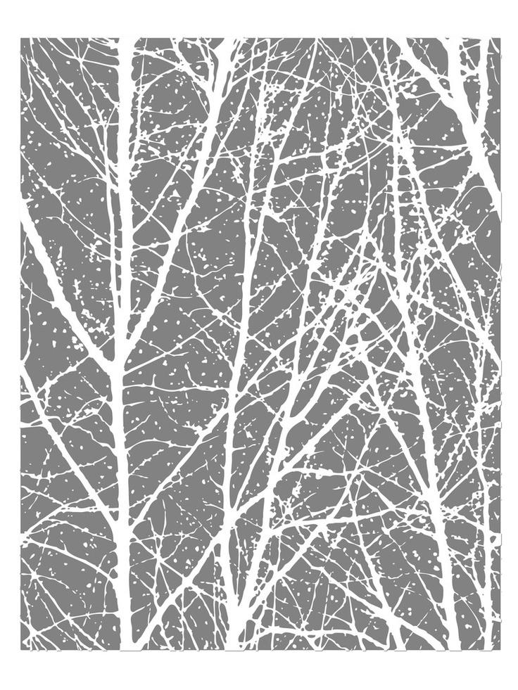 tree wallpaper, tree decal, birch tree wallpaper
