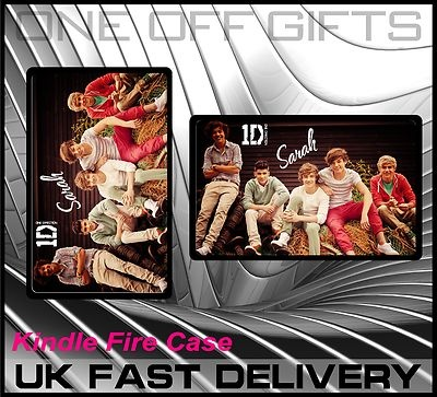 THIS IS WONDERFUL! One Direction Hard Cover Case for Kindle Fire!! A MUST HAVE!!