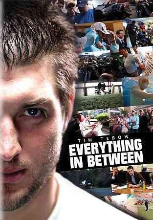 Tim Tebow: Everything in Between [GV939.T423 T56 2011] In the winter of 2009, Fiction approached long-time friend and aspiring NFL quarterback Tim Tebow, as his storied career was coming to and close at the University of Florida. Director:Chase Heavener Stars:Tim Tebow, Will Bartholomew, Zeke Bratkowski