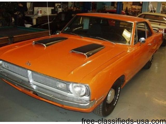 listing 1970 DODGE DART SWINGER 340 Manual 4 spe... is published on Free Classifieds USA online Ads - http://free-classifieds-usa.com/vehicles/cars/1970-dodge-dart-swinger-340-manual-4-speed_i38331