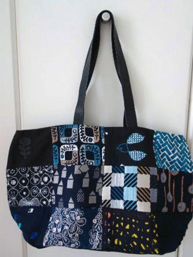mina perhonen bag from remnants
