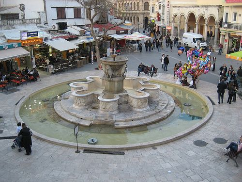 Heraklion, Crete  Morosini fountain
