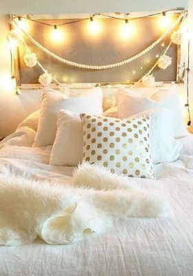 Gold And White Pillows!