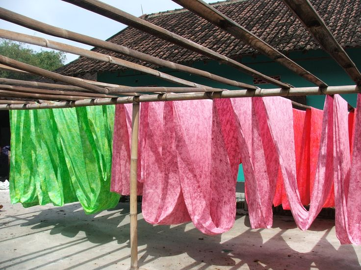 DSCF4150.JPG - Dried batik. Please feel free to visit www.tirtanajma.blogspot.co.id