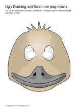 swan mask template - 281 best images about masks on pinterest duck mask