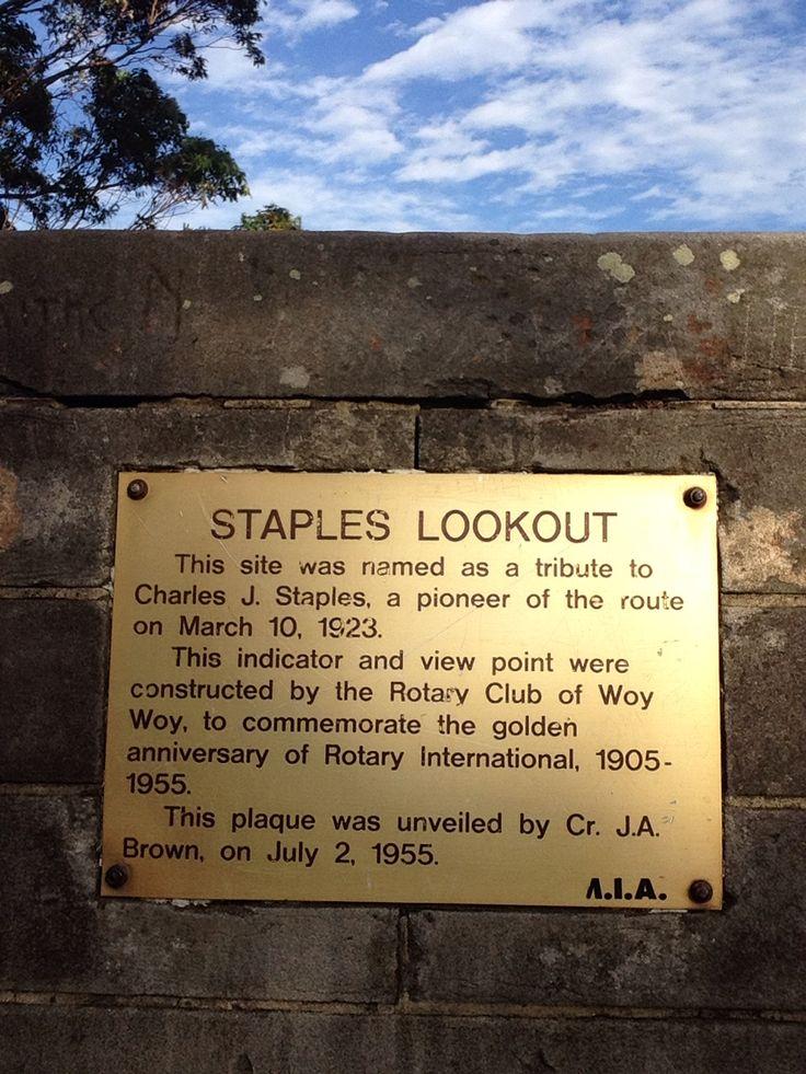 Staples lookout :) NSW, Australia