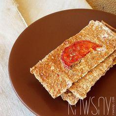 Хлебцы со вкусом пиццы - Сыроедение, рецепты и диеты - Rawsay