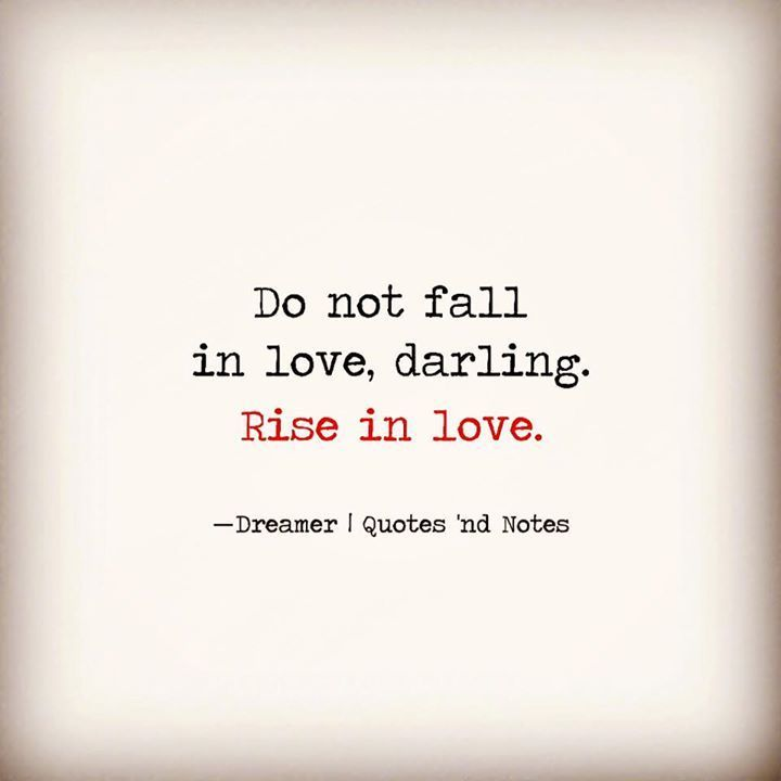 Positive Quotes :    QUOTATION – Image :    Quotes Of the day  – Description  Do not fall in love darling. Rise in love.  Sharing is Power  – Don't forget to share this quote !  - #Positive https://hallofquotes.com/2017/10/18/positive-quotes-do-not-fall-in-love-darling-rise-in-love/
