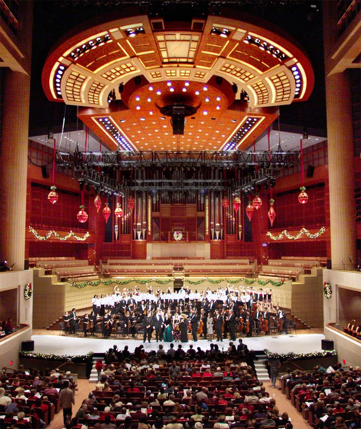 The Meyerson in Dallas,TX. The home of the Dallas Symphony Orchestra. You have to be here to experience it!