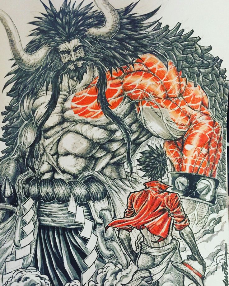 One Piece, Kaido, Luffy|| i'm looking forward for this fight!!