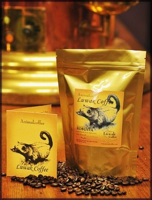 Kopi Luwak Civet Coffee.  Given where it comes from and how much it costs (google it) it better be good.