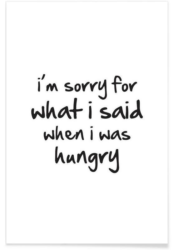 hungry en Affiche premium