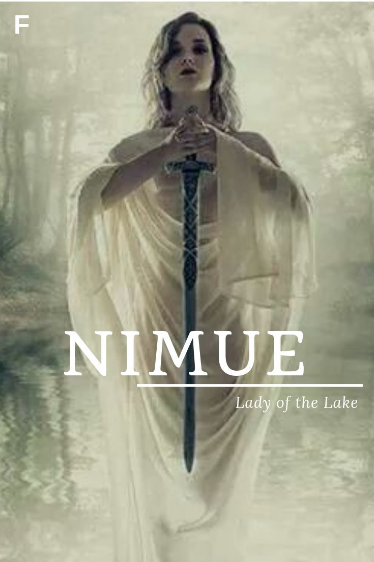 Nimue, was Lady of the Lake bedeutet, Authurian-Namen, N Babymädchen-Namen, N Babyname …
