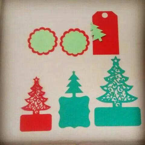 Christmas tags / Etiquetas de navidad